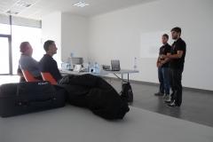 Exponiendo los proyectos MotoStudent III